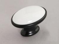 10Pcs Drawer Knobs Ceramic Drawer Pull Handle Hardware Knob (Diameter:40mm)