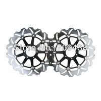 2XFront Brake Disc Rotor For XLV VARADERO 1000 99-11 GL F6C VALKYRIE 1500 97-03
