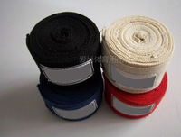 Free shipping boxing hand wraps 2.8M*5CM Boxing bandages /100% cotton bandage