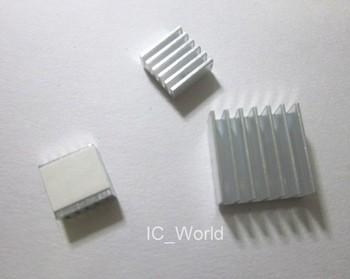 Hot on ebay! Professional selfadhesive  Aluminum Heatsink set for Raspberry Pi Model A/B 256MB&512MB