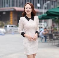 Free shipping Women's Newest Sweet Fashion Cozy  Dress Hot selling bracelet Sleeve Dress