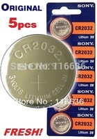 5pcs CR2032 BR2032 CR2332 BR2332 L14 cr2032 3v lithium battery Cell Button Card Battery High Capacity 2032