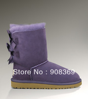 int'l Brand Natural Suede 100% Wool inside 3280 women 1002954 snow boot,New security label Security Hologram Original BOX