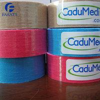 1pcs 2.5cm*5m Kinesiology Kinesio Tape Pure Cotton Ventilatior Waterproof Olympic Sports Safety Play Football Tennis Badminton