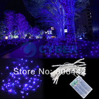 New AA Battery Purple 3M 30 LED String Fairy Party Festival Decoration Light Lamp Bulb Free shipping TK0295