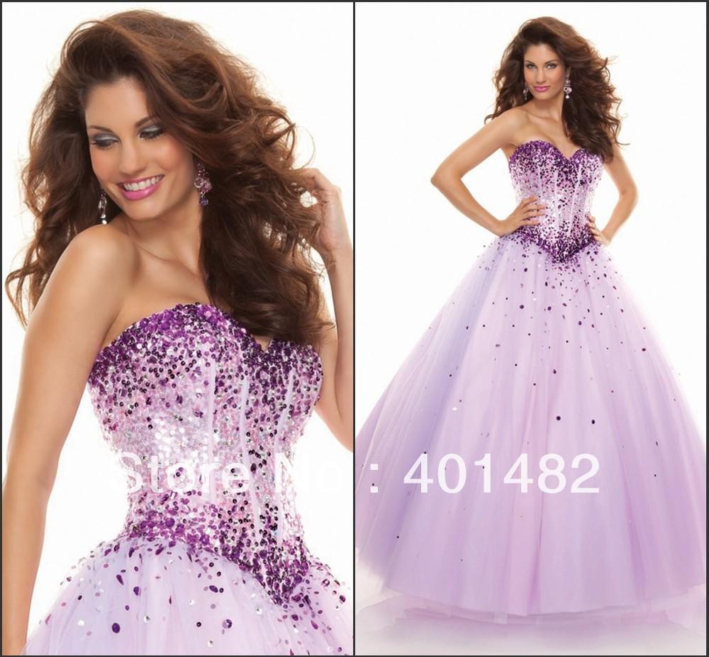 Popular Light Purple Prom