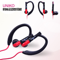 Free shipping in ear earphones with mic Braided wire  campaign-style headphones