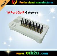 16 Port GSM VoIP Gateway(GoIP Gateway)Free shipping