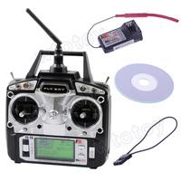 Flysky FS-T6 2.4G AFHDS 6CH Simulator/Radio Remote Controller System(Model 2) 20391