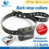 Free shipping NEW Waterproof Rechargeable MEDIUM LARGE DOG ANTI BARK COLLAR WT743