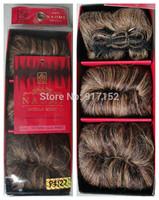 5PCS+ Free shipping  Nomi 27PCS Human  hair super short  hair extension