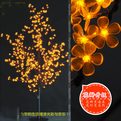 DHLFreeshipping LED Christmas Tree 1.5Meter 110V/220V LED Cherry Blossom Tree Light waterproof landscape Lamp(China (Mainland))