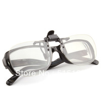 High Quality Circular 3D Clips-on 3D Glasses for RealD 3D, Free shipping!