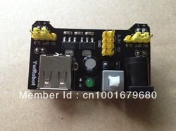 Breadboard Power Supply Module 3.3V 5V MB102 Solderless Bread Board DIY 2012 New dedicated power module(China (Mainland))