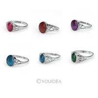 Wholesale - 72pcs Mixed Women's Gifts Colorful Cluster Rings Womens Gift For Girlfriend 261654