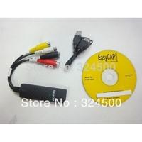 Fpv usb video capture card notebook desktop 2.0 Easy CAP DC60 TV DVD VHS Audio AV Easycap DVR Adapter device Retail 1pcs/lot new