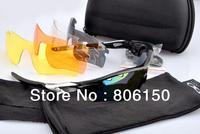 High quality New style Radarlock path Black frame silver logo Vented Lens men's Sport sunglasses 31 frame colour