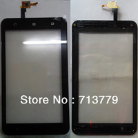 original capacitive screen for ZTE Light Tab T9 V9 V9E touch digitizer with frame (5pcs/lot) by shipping DHL,EMS