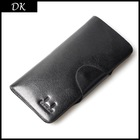 Free shipping 1pcs Cowhide wallet,men leather wallet Three open MIDI pattern card bag for men whosale(China (Mainland))