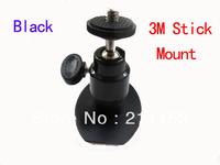 "Unique Design 1/4"" Screw 3M Stick Paste Car Camera Mount Holder for Car DVR H198 017 027 K6000 Mini Stand Digital Camera Bracket"