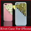 New Arrival Cute Bling Rhinestone Defender Case Cover for Apple iPhone 5 4 , 3D Plastic 4S Phone Cases Free Shipping