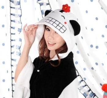 New! Panda Lovely Plush Soft Cloak
