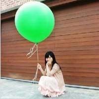 Free Shipping Wholesale 36 inches large circular Christmas wedding party decoration latex balloons, rich and colorful