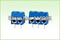 Free shipping 50pcs 2pin+50pcs 3pin PCB Screw Terminal Block total 100pcs