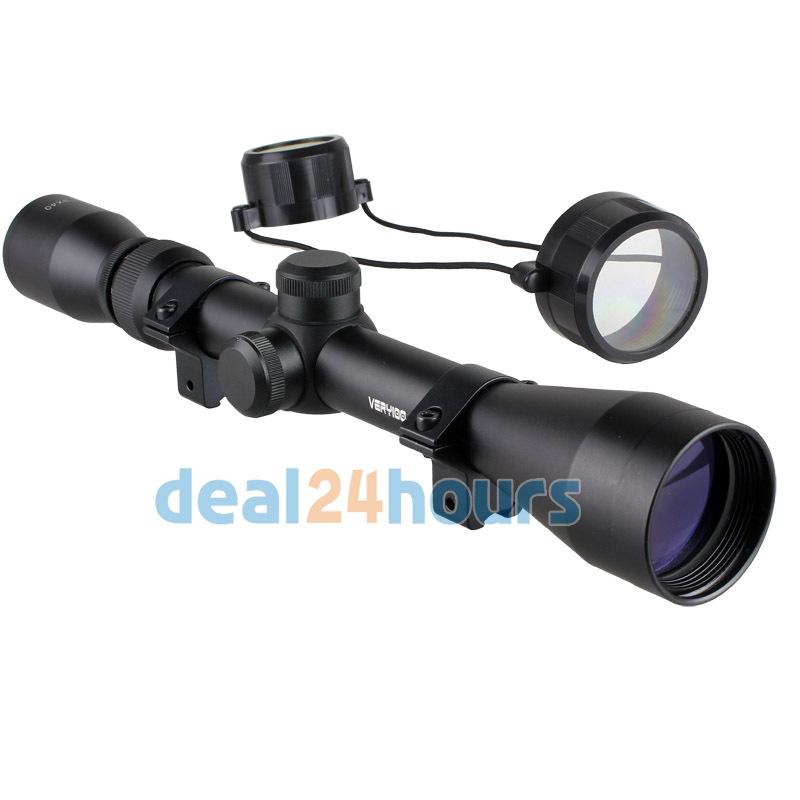 New 3-9 x 40 Tactical Rifle Optics Sniper Scope Reviews Sight Hunting Scopes Black Free Shipping!(China (Mainland))