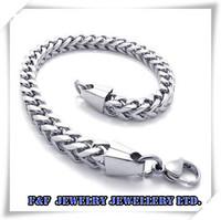 HOT SALE 9 inch MENS Silver Tone 316l Stainless Steel Link Mens Bracelet,Free Shipping,B#15,Fashion Bracelet