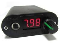 Free Shipping New High Quality Mini LED Screen Tattoo Battery Power Supply Black