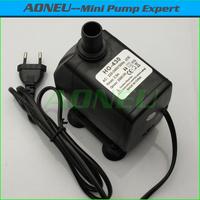 Euro plug 2500LPH 2.5M 220V~240V 50Hz AC Mini Submersible Aquarium Fish Tank Air Water Pump/Fountain Pump With Flow Controller