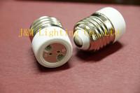 E26-MR16 ceramics holder adapter E26 to MR16 lamp base Flame retardant lamp holder MR16 to E26 adapter converter