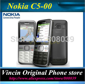 Original Unlocked Nokia C5 cell phone 3.15 mp Refurbished