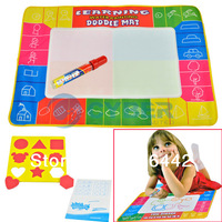 New Baby Educational Toy Water Doodle Painting Drawing Mat Magic Mat Cloth Baby Playing Toy Funny Free Shipping 8578