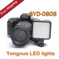 Yongnuo SYD-0808 DV Video LED Light News Wedding LED Video Light SLR camera fill light LED lights