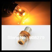 Set /2 pcs Bau15s 7507 PY21W 25W Cree Chip High Power Turn signal Tail Car Light Bulb Amber/Yellow