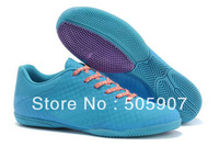 Newest style Elastico Finale II Indoor Soccer Shoes Mens Football Boots,Branded Laser Orange/Volt/Bright Citrus Free Shipping!
