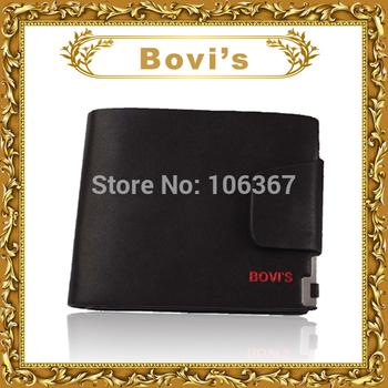 western leather man vintage designer checkbook wallet brand carteira T8019-1
