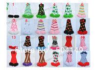 free shipping mixed items chiffon ruffle leg warmers 20pairs/lot