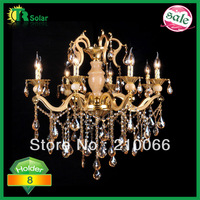 freeshipping model chandeliers fashion crystal pendant lamp for living-room bedroom wholesale and retail E14X8 holder C80*80cm