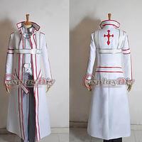 Free Shipping Customized Sword Art Online Knight Costume Blood Oath Kirito Cosplay Costume