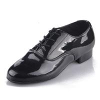 Men ballroom dancing modern dance shoes modern dancewear Latin dance shoe low heel black color