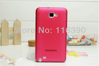 wholesale 200pcs/lot 0.3mm Ultra Thin Slim Frosted Matte PC Case for Samsung Galaxy Note II/2 N7100,Free Shipping