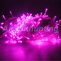 free shipping 10m/40 pink party tree christmas xmas led fairy string lights lighting