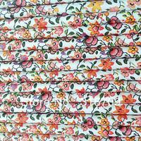 Flower Paper Straws  Drinking Paper Straws wholesale 1000pcs free shipping via FEDEX / DHL / EMS