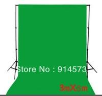 photographic equipment 3m x 6m 100% Cotton Chromakey Green Screen Muslin Background Backdrop