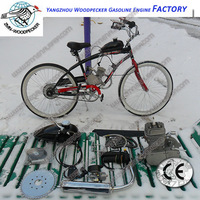 Bicycle Engine Kits Silver /Bike Motor Kit/ Gasoline Engine 1E45F, 60CC Engine/ Freeshipping