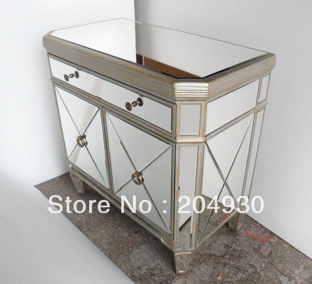 Popular Antique Mirrored Nightstand Buy Cheap Antique Mirrored Nightstand lots from China