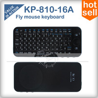 iPazzPort Russian Fly Mouse Wireless Keyboard KP-810 2.4Ghz suit for windows android mini pc laptop MK808 Remote control